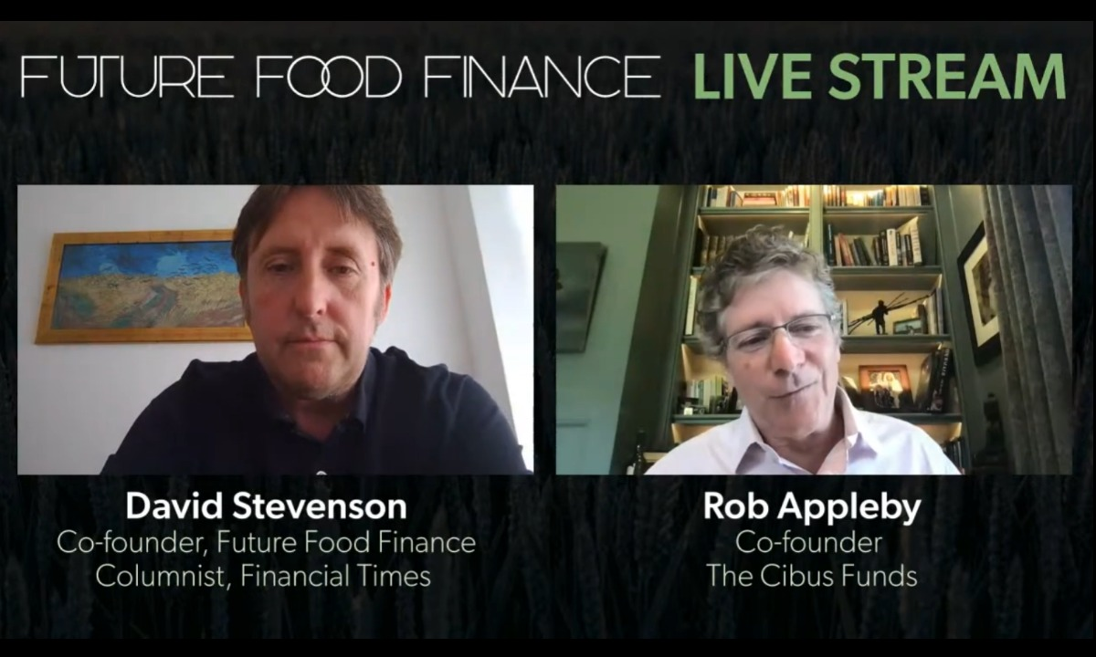 Live Interview with Rob Appleby, Cibus fund Co-founder